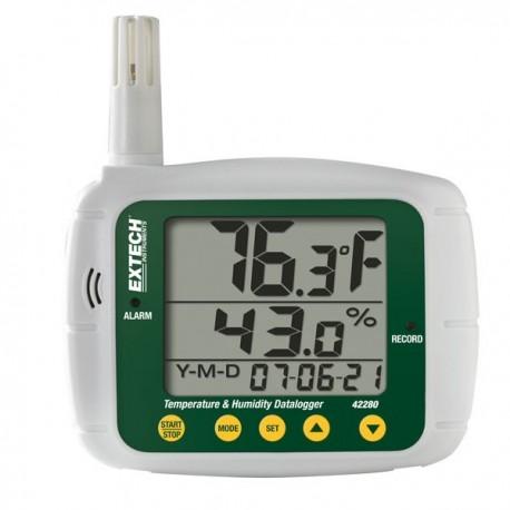 Registador de Temperatura e Humidade Extech 42280