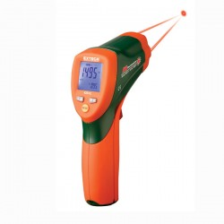 High Temperature Dual Laser InfraRed Thermometer Extech 42512