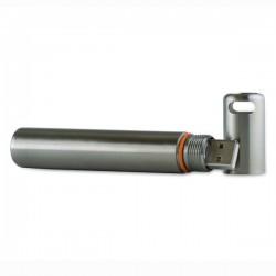 Data logger de Temperatura em Aço Inoxidável Corintech USB-T PRO