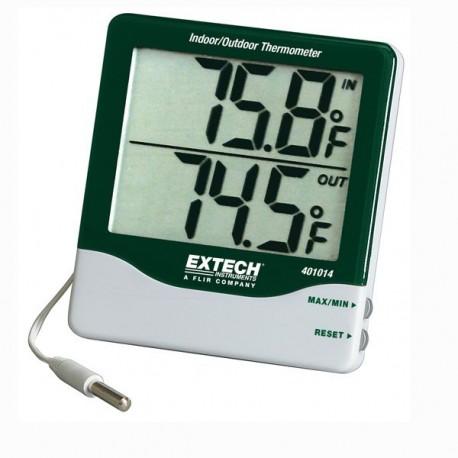 Big Digit Indoor/Outdoor Thermometer Extech 401014