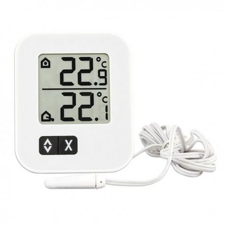 Termómetro digital com sonda interna e externa para refrigeração ou congelação 30.1043.02