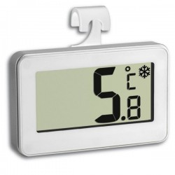Digital fridge thermometer with food safety zone indicator TFA 30.2028.02