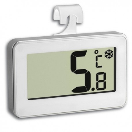 Digital fridge thermometer with food safety zone indicator 30.2028.02