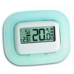Digital fridge thermometer with food safety zone indicator 30.1042