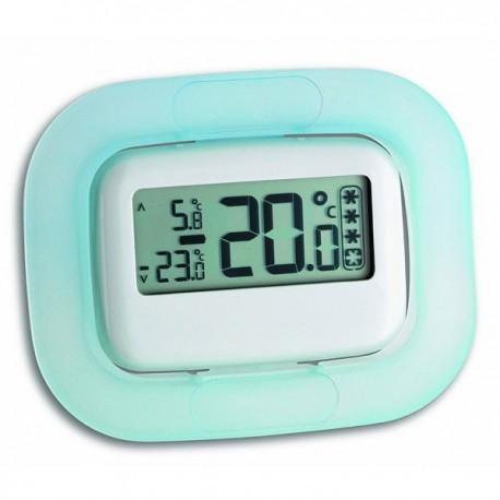 Termómetro digital para frigorífico ou arca congeladora com indicador de segurança para alimentos 30.1042