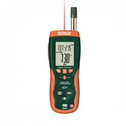 Psicómetro com Termómetro por Infravermelho incorporado Extech HD500