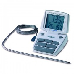 Termómetro e temporizador de forno TFA 14.1500