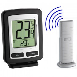 Zoom Indoor/Outdoor Radio Thermometer TFA 30.3040.IT