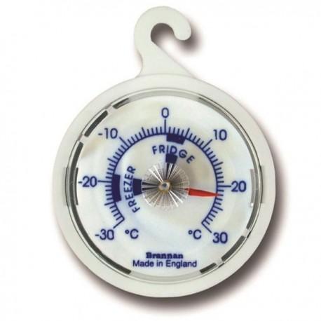 Termómetro analógico para frigorífico ou congelador Brannan 22/474/2