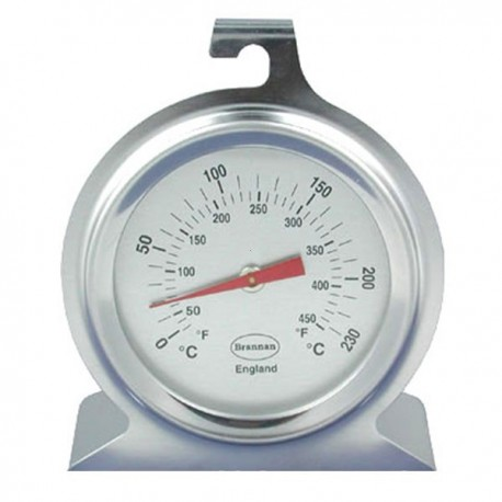 50mm Stainless Steel Dial Oven Thermometer Brannan 23/400/3