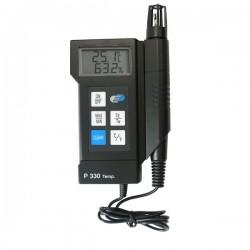 Termohigrómetro com medição ponto de orvalho e bolbo húmido Dostmann 5000-0330