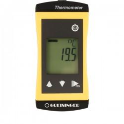 Termómetro à prova de água com entrada para diferentes tipos de sondas PT1000 Greisinger G1700