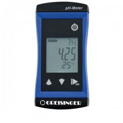 Medidor de pH de elevada precisão Greisinger G1500-GL