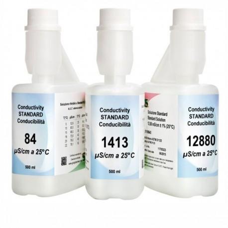 Calibration solution conductivity Dostmann 6031-0052, 6031-0054, 6031-0055