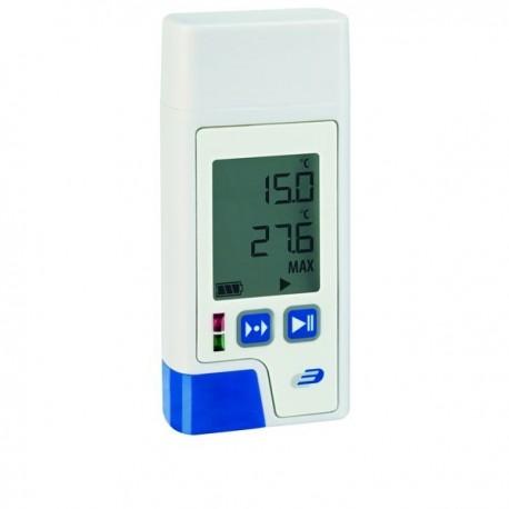 Registador/Datalogger de temperatura com visor e impressão em PDF Dostmann 5005-0200