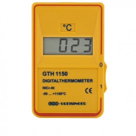 Quick response thermometer for type K probes Greisinger GTH1150 471acd94f3784