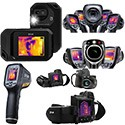 Thermal imaging infrared cameras