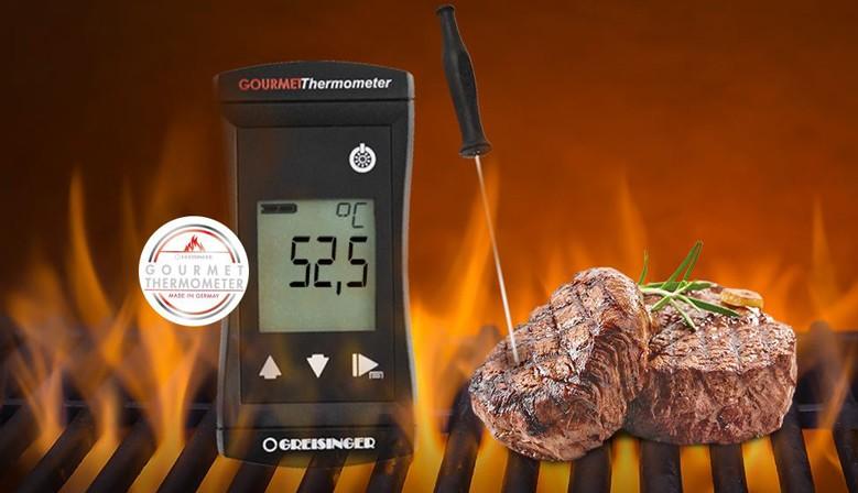 Termómetro Gourmet à prova de água Greisinger G1731