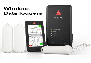 Wireless dataloggers